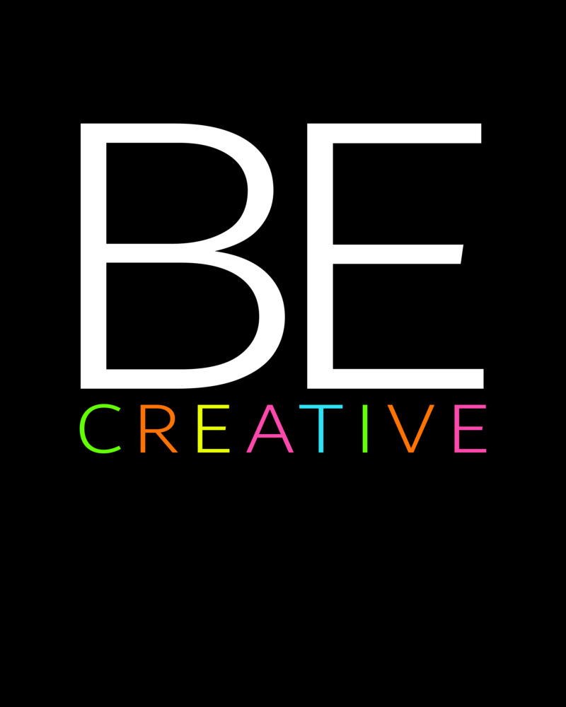 Be Creative Dot Grid Notebook Cover