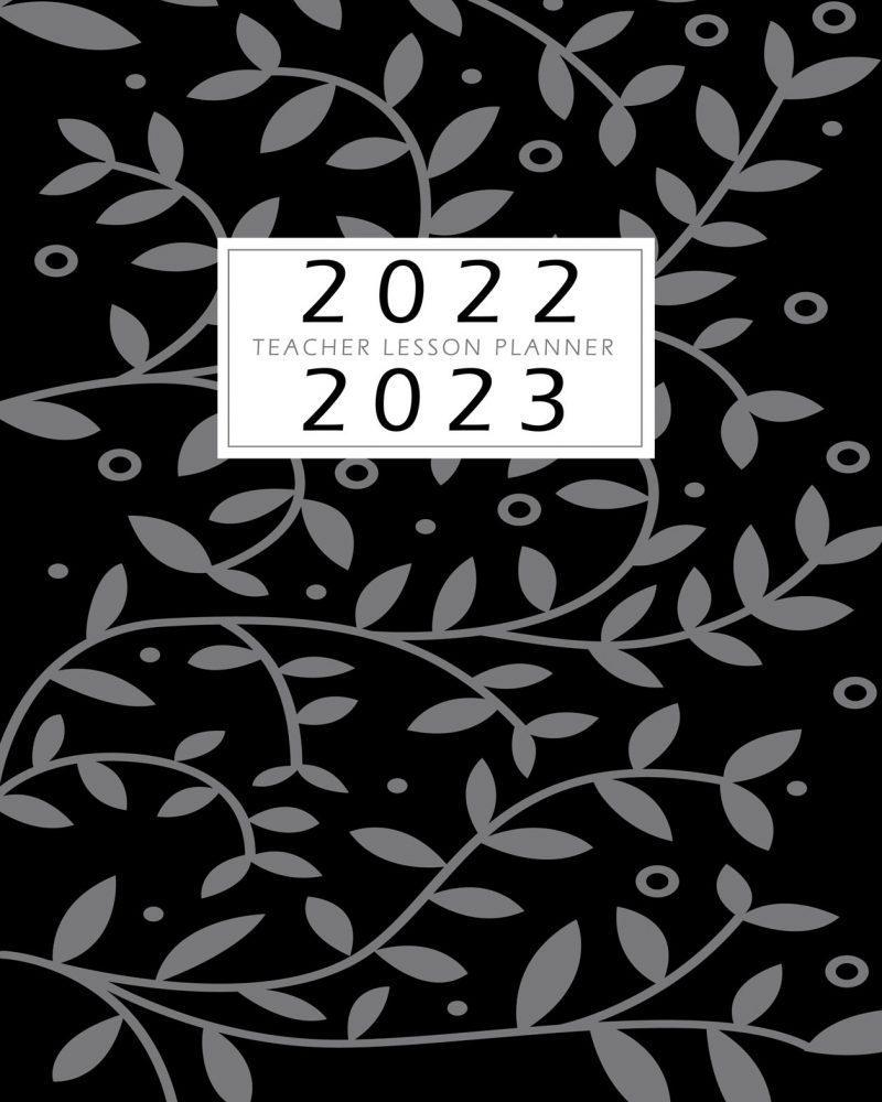 Black-Floral-LessonPlanner-Cover
