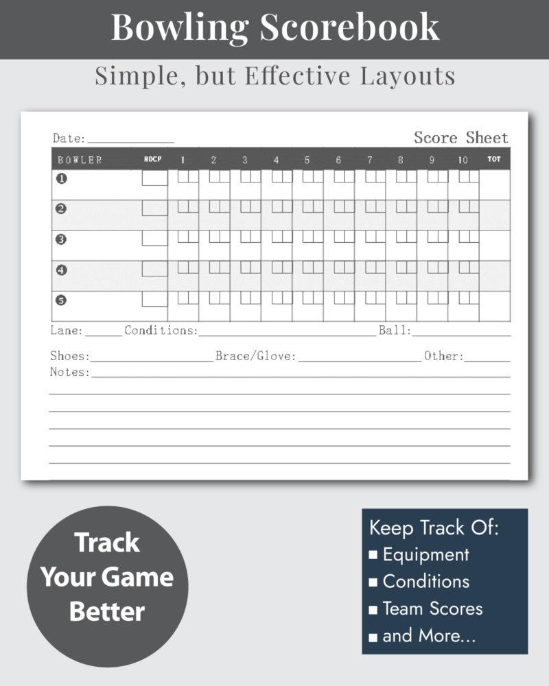 Bowling-Score-Book-Layouts