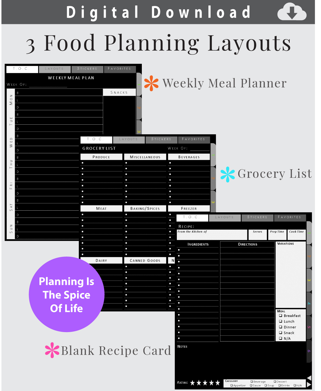 Digital-Blackout-Journal-Food-Planners