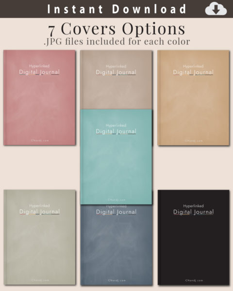 Digital Journal - Included Covers