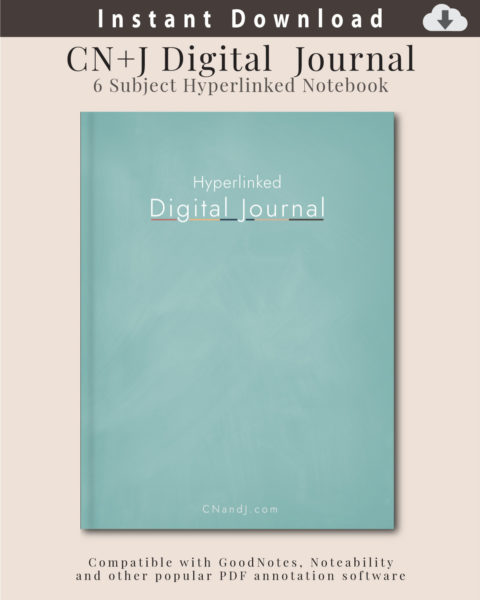 Digital Journal / Notebook Cover