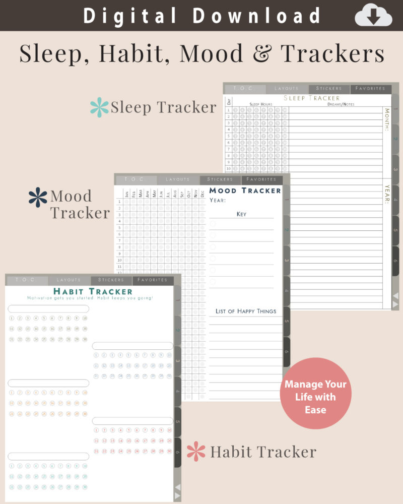 Digital-Journal-Trackers
