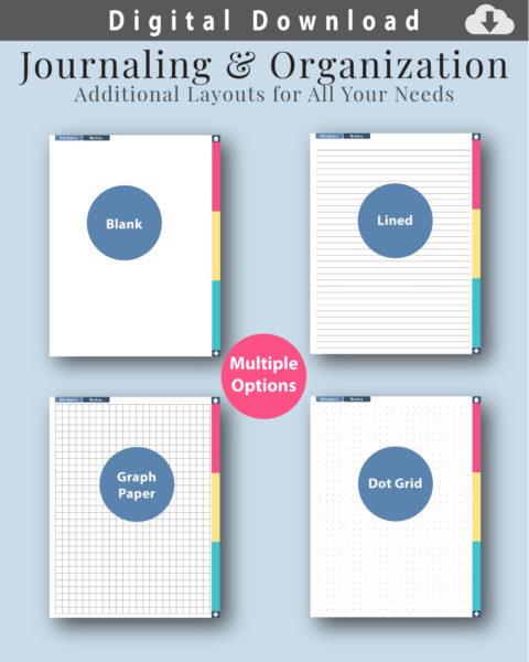 Digital Journal Layouts