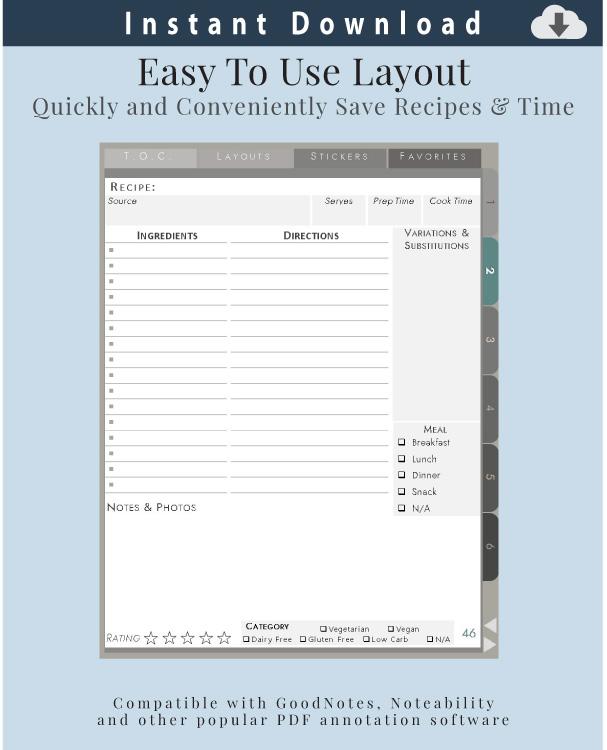 Digital-Recipe-Organizer-Recipe-Card