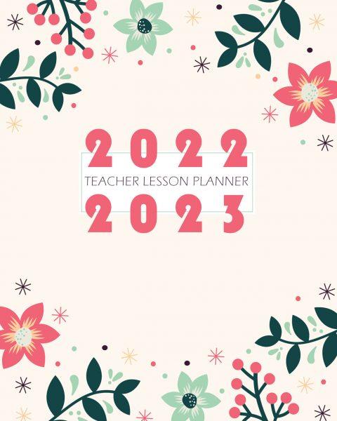 Gouache Lesson Planner Cover