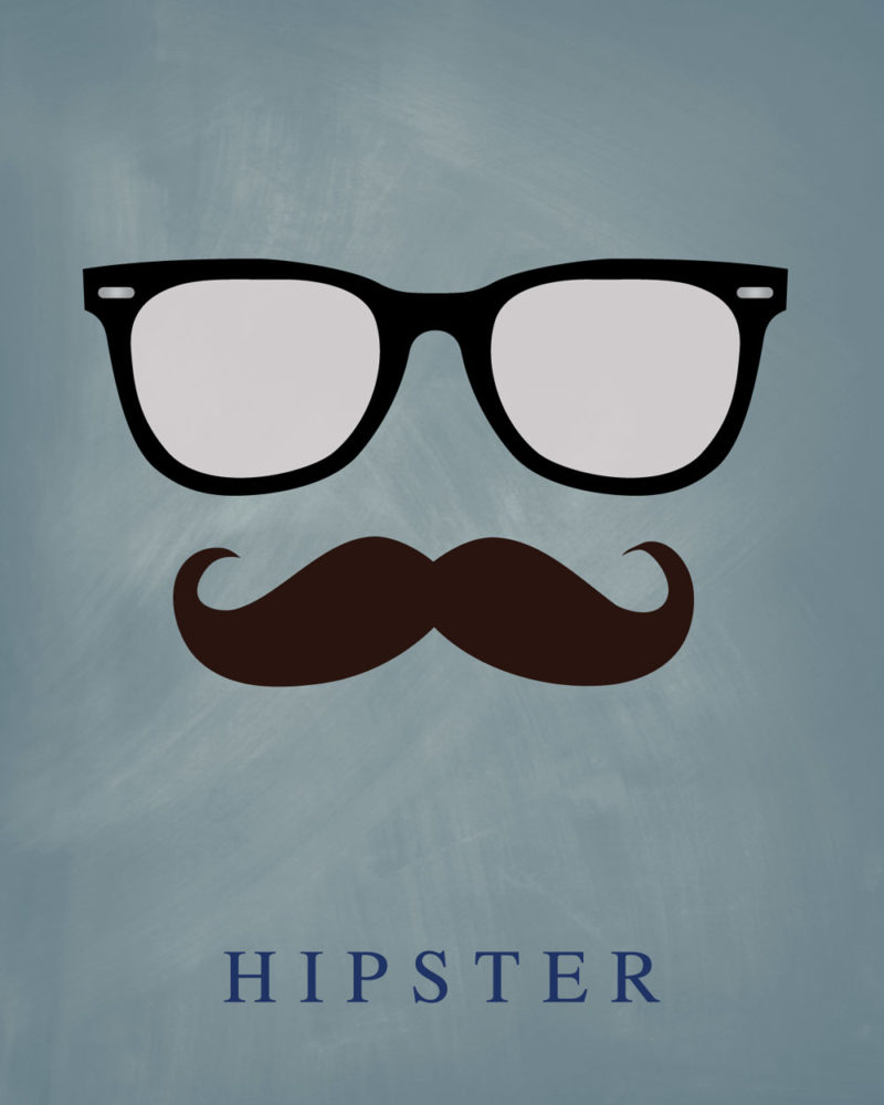 Hipster-Notebook