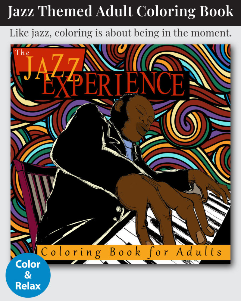 Jazz-Experience-Adult-Coloring-Book-Cover