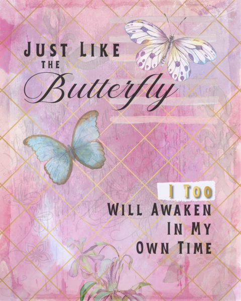 Just Like the Butterfly I Too Will Awaken In My Own Time Cover Art