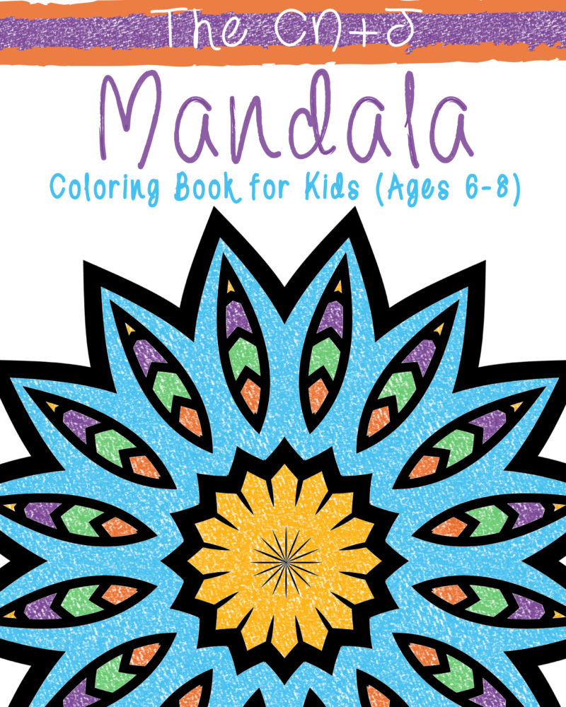 Mandala-Coloring-Book-for-Kids-6-8-Simple-Front-Cover