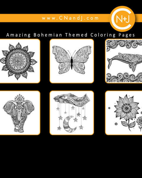 Mandalas and More Adult Coloring Book Back Cover