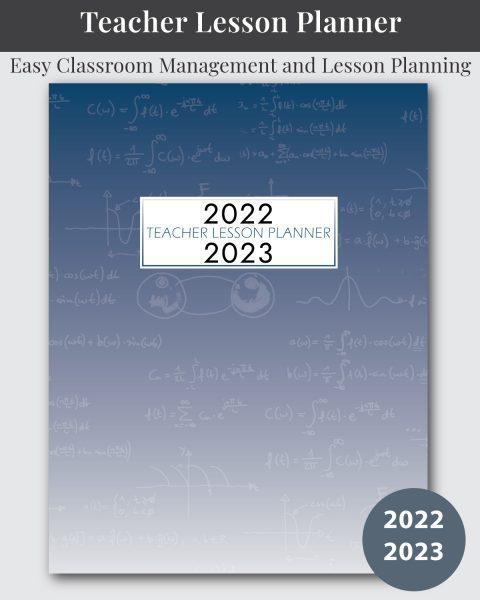Math Themed Lesson Planner for Teachers