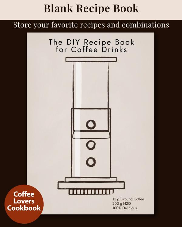 The DIY Recipe Book for Coffee Drinks - Tan