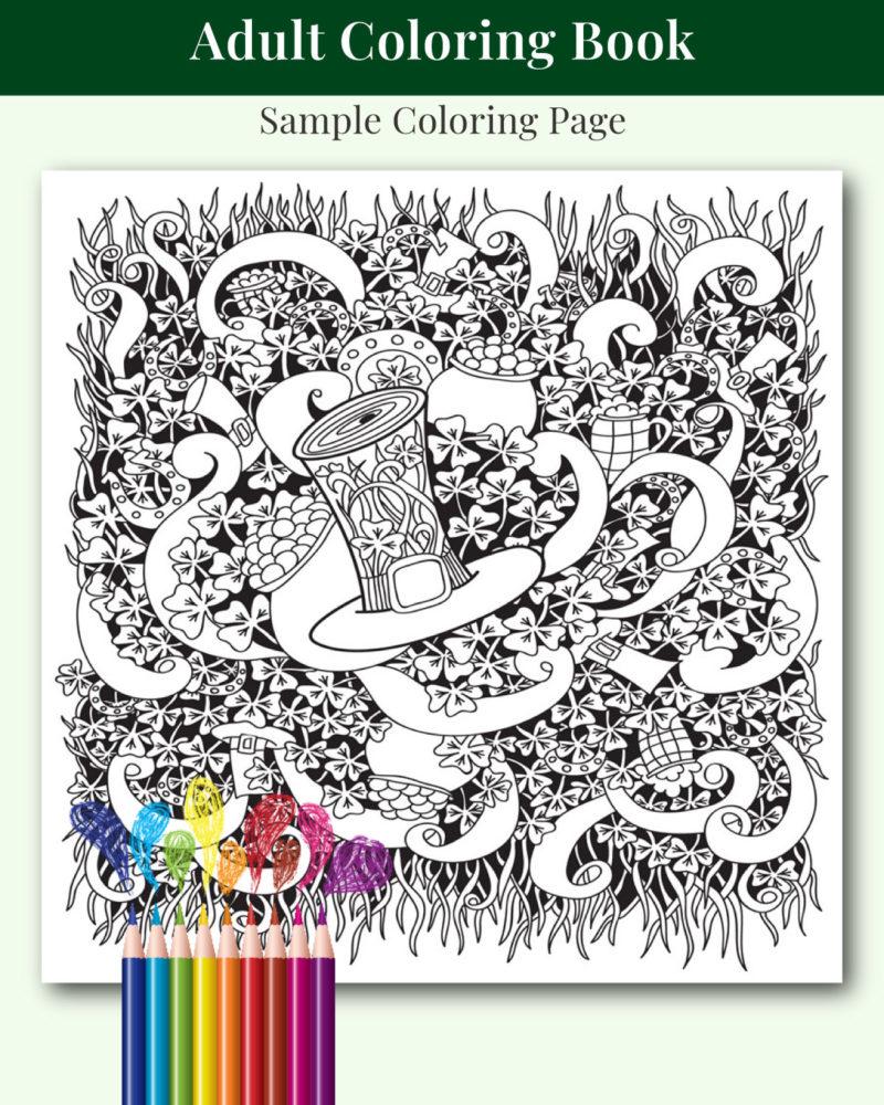 St-Patricks-Day-Adult-Coloring-Book-Sample-01