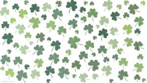 CNandJ.com St. Patrick's Day Zoom Background (White)