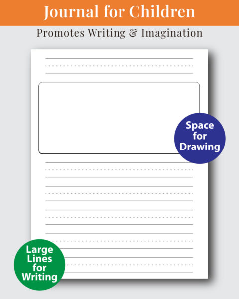 Summer Write and Draw Journal for Kids Interior Design