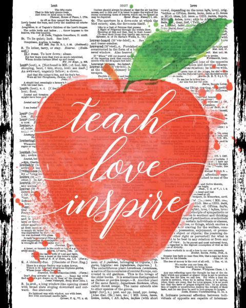 Teach Love Inspire Lesson Planner - Cover
