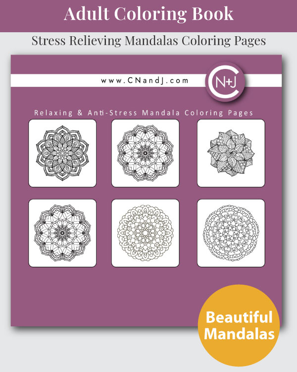 The-Mandala-Adult-Coloring-Book-Back-Cover