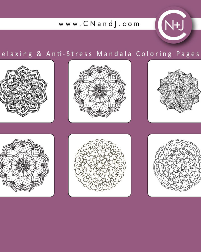 The-Mandala-Adult-Coloring-Book-Cover-Back