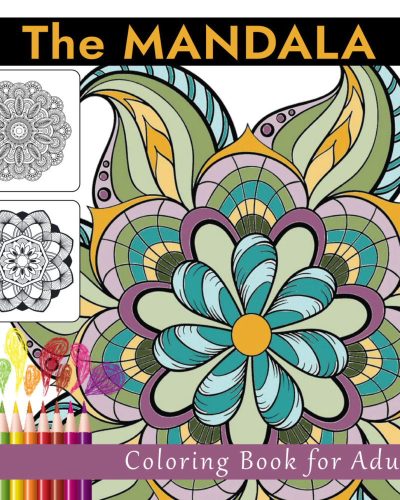 The-Mandala-Adult-Coloring-Book-Cover-Front