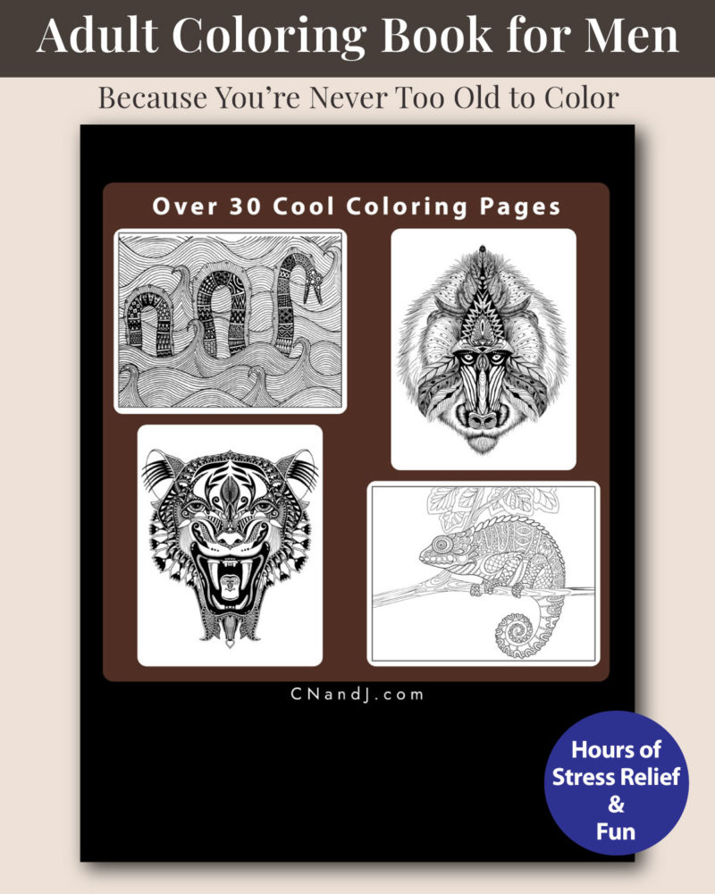 The-Ultimate-Adult-Coloring-Book-for-Men-Vol2-Back-Cover