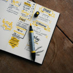 A bullet journal that can inspire you to start your own