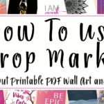 How to Use Crop Marks header
